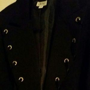 Cache Sz4 Jacket with Rhinestone details